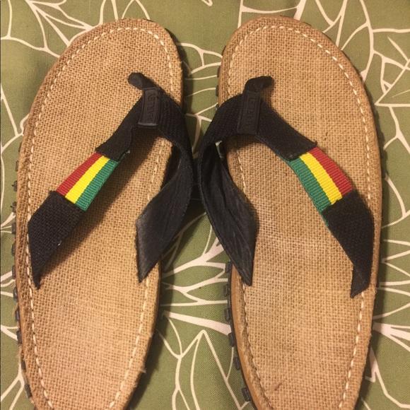5dafff617a4a Bob Marley Other - Bob Marley Fresco Sands Men s Flip Flops sz10-10.5